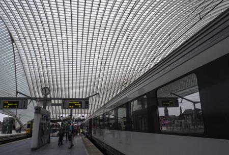 liege: Liege train station Editorial