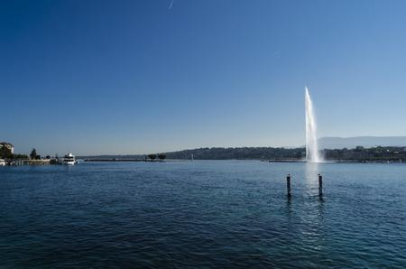 geneva: Water jet in Geneva