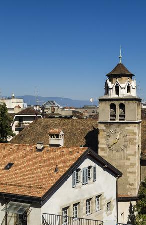 geneva: Geneva Switzerland Stock Photo