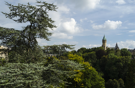 luxembourg: Luxembourg city view Stock Photo