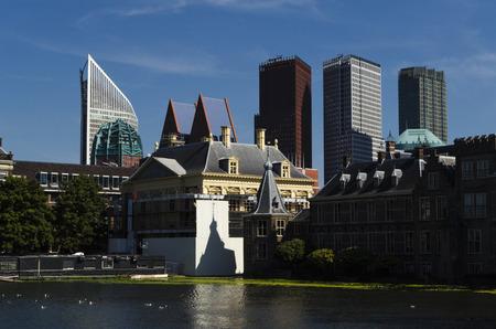 'the hague': Hague city view Stock Photo