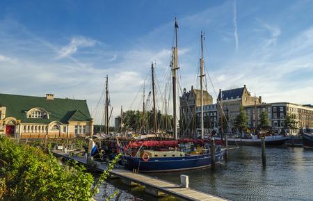 old port: Rotterdam old port
