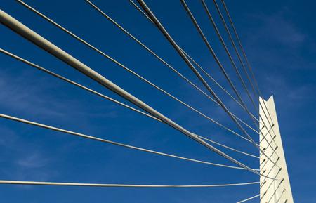 modern bridge: Modern bridge in Rotterdam