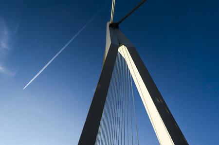 rotterdam: Modern bridge in Rotterdam
