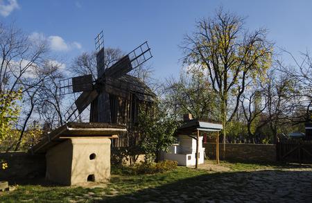 rustic: Rustic windmill