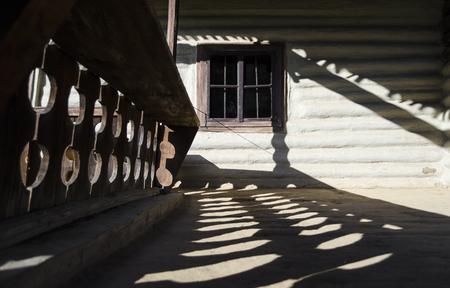 rustic: Rustic house