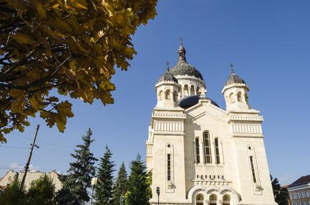 orthodox: Orthodox cathedral in Transylvania Stock Photo