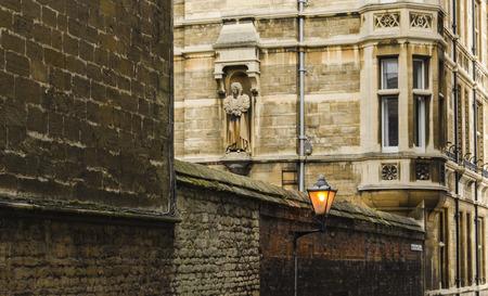 cambridge: Architecture detail in Cambridge, United Kingdom Stock Photo