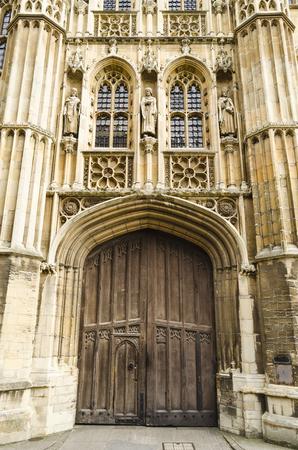 Architecture detail in Cambridge, United Kingdom Stock Photo