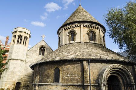 cambridge: Church in Cambridge, United Kingdom Stock Photo