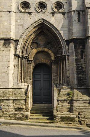 architectural architectonic: Church doorway