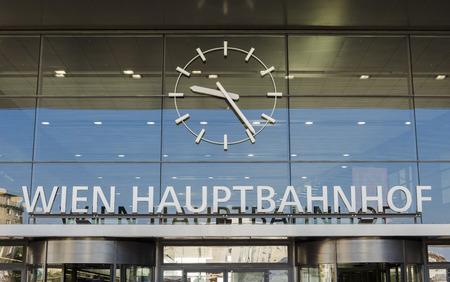 estacion de tren: estaci�n de tren de Viena