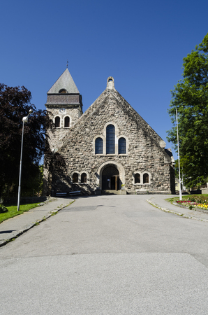 alesund: Church in Alesund, Norway Stock Photo