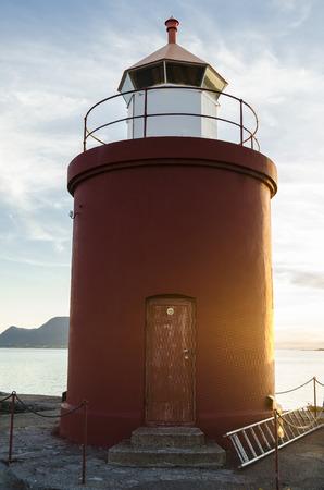 alesund: Lighthouse in Alesund, Norway