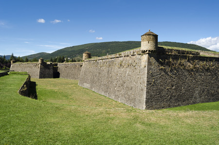 edification: Fortress in Jaca, northern Spain
