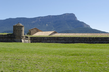 northern spain: Fortress in Jaca, northern Spain