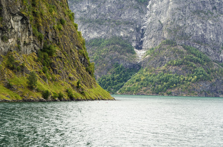 fjord: Fjord landscape in Norway