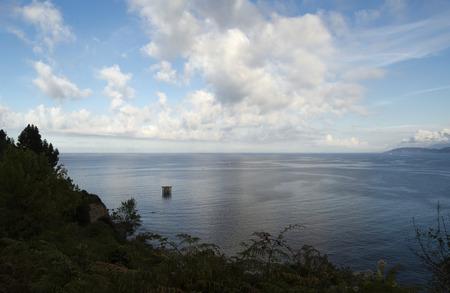 northern spain: Northern Spain coastline in Asturias