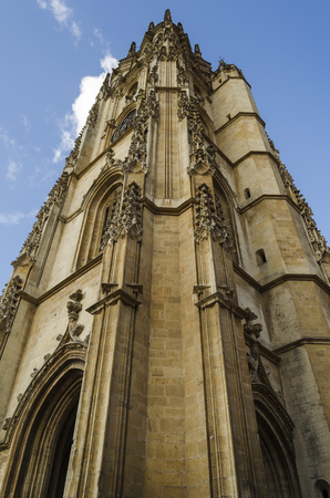 northern spain: Cathedral in Oviedo, northern Spain Stock Photo