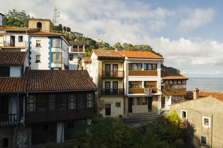 spanish landscapes: Rustic village in northern Spain