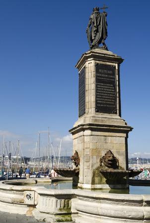 northern spain: Gijon port, northern Spain
