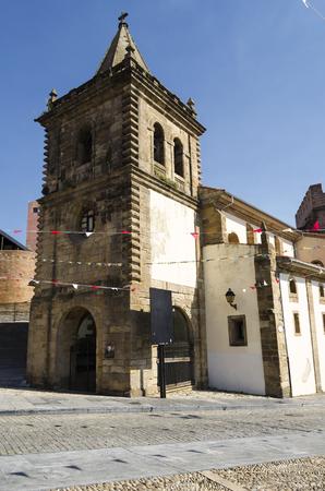 northern spain: Gijon, northern Spain Stock Photo