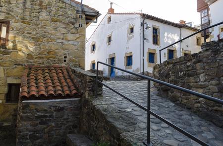 rustic: Rustic village in northern Spain