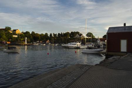 kristiansand: Kristiansand port, Norway Editorial