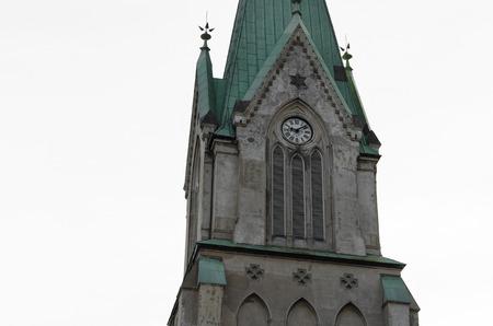 kristiansand: Church in Kristiansand, Norway Stock Photo