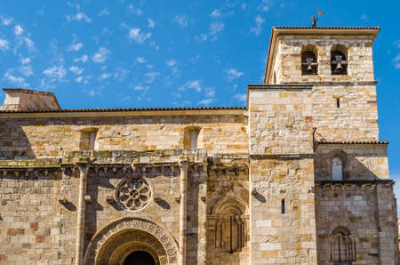 View of an old church in Zamora (Castile and Leon), Spain Stock Photo