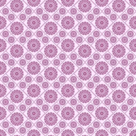 Seamless pattern with floral design. Regular texture with flowers. Beautiful flowers on purple background.