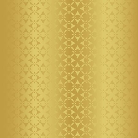 Golden seamless pattern as imitation metal foil. background for printing on wrapping paper. Gold paper for packaging Banco de Imagens