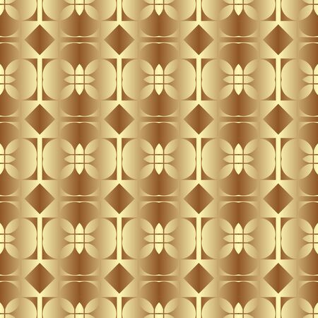 Golden seamless pattern as imitation metal foil.3D background for printing on wrapping paper. Gold paper for packaging
