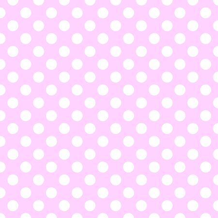 Polka dot pattern. Simple polka dots are repeated. Suitable design as a background, wrapping paper, packaging and more.Regular filled circles as a seamless texture.
