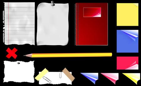 Office Stuff Illustration