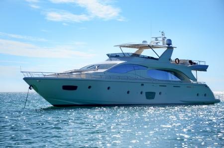 Luxury yacht in dominican republic
