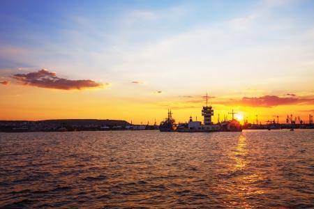 Sunset Harbour  photo