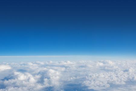 ciel avec nuages: Above The Clouds Photo de nuages ??gonfl�s