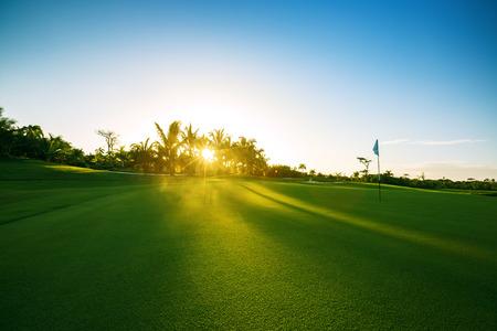 Golfové hřiště v přírodě