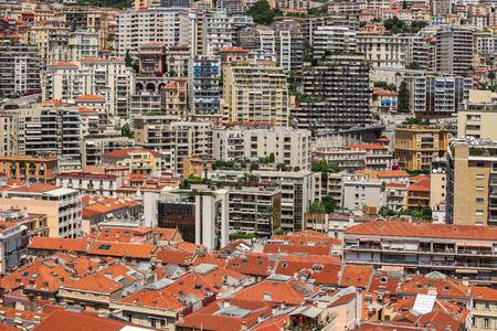 carlo: Urban landscape of Monte Carlo in Monaco, french riviera
