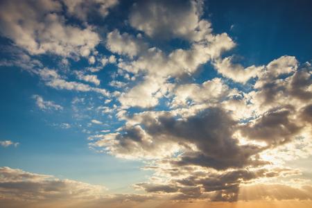 sky with clouds: Sunrise dramatic sky clouds
