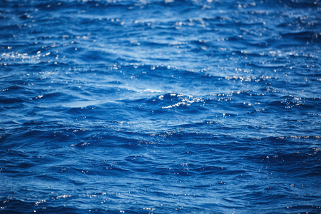 carribean: Flowing water surface.  Background of Carribean sea waves, near Punta Cana, Dominican Republic. Stock Photo