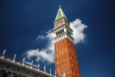 marco: San Marco square. Venice Italy. Stock Photo