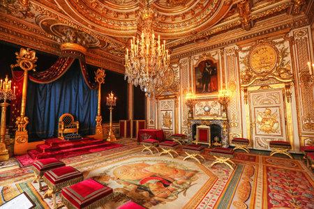 Paris, France, Versailles palace room interior
