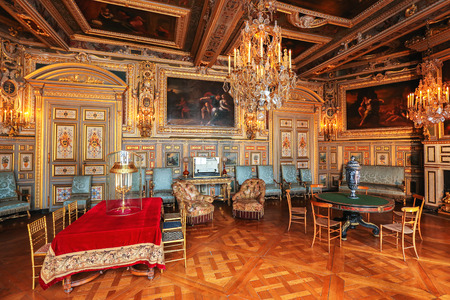 baroque room: Paris, France, Versailles palace interior