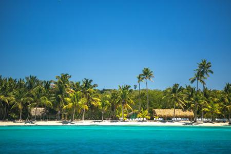 cana: Carribean sea, beautiful panoramic view Stock Photo