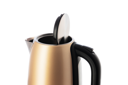 Electric kettle jug isolated on white background.