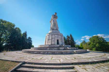 The Pantheon Monument in the Sea Garden of Varna, Bulgaria