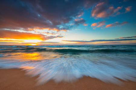 Beautiful cloudscape over the sea, sunrise shot Reklamní fotografie