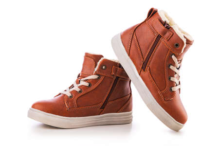 Kids casual shoes. Winter boots or sneakers.